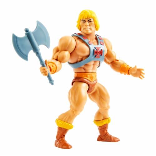 Mattel Masters of the Universe Origins He-Man Action Figure Perspective: left
