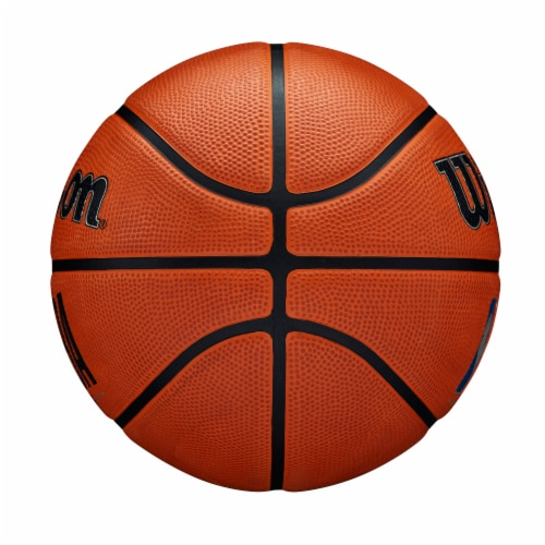 Wilson Sporting Goods NBA DRV PRO Basketball - Orange/Black Perspective: left