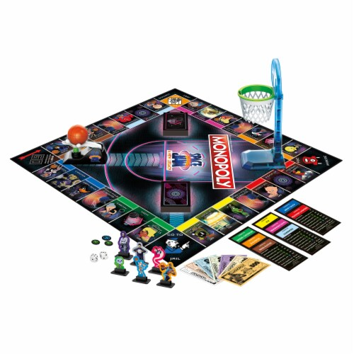 Hasbro Gaming Monopoly: Space Jam: A New Legacy Edition Perspective: left