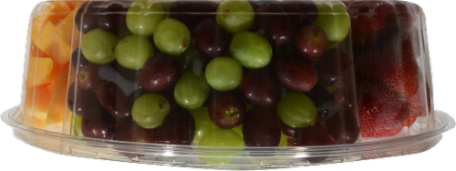 In-Store Cut Fruit Tray Perspective: left