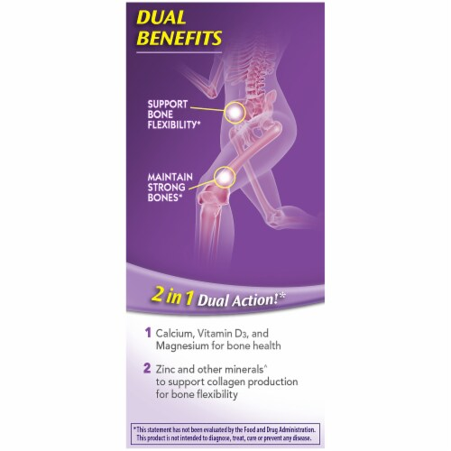 Caltrate Bone Health Advanced Minis Calcium Tablets Perspective: left