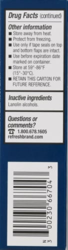 Refresh P.M. Lubricant Eye Ointment Perspective: left