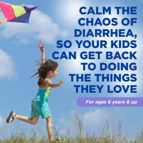Imodium A-D Mint Flavor Anti-Diarrheal Oral Solution for Children Perspective: left