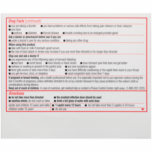 Sudafed 12-Hour Non-Drowsy Sinus Pressure + Pain + Congestion Relief Caplets Perspective: left