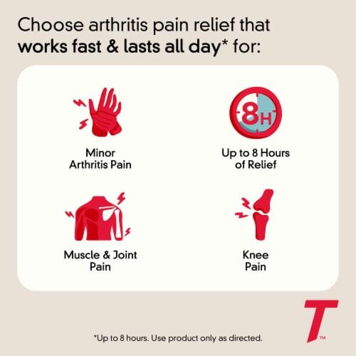 Tylenol 8-Hour Arthritis Pain Extended Release Caplets Perspective: left