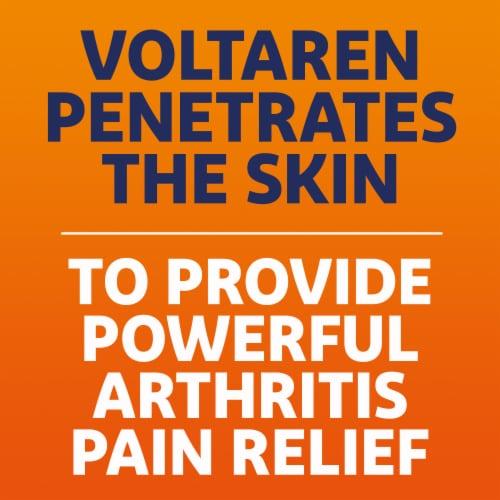 Voltaren Arthritis Pain Reliever Topical Gel Perspective: left