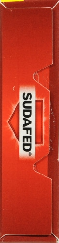 Sudafed 12 Hour Caplets Perspective: left