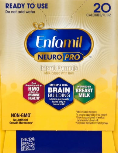 Enfamil Infant Nursette NeuroPro Formula Perspective: left