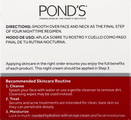 Pond's Rejuveness Night Cream Perspective: left