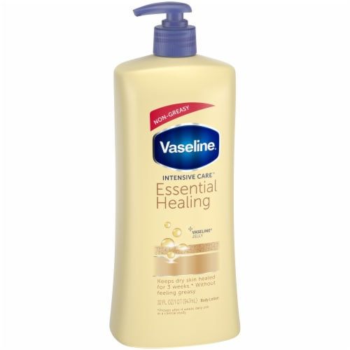 Vaseline Intensive Care Essential Healing Body Lotion Perspective: left