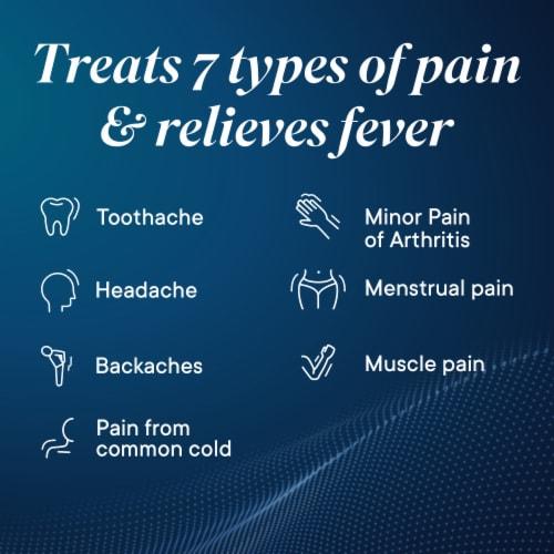 Advil Liqui-Gels Pain Reliever/Fever Reducer Ibuprofen Liquid Filled Capsules 200mg Perspective: left