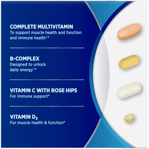Centrum Mens 30+ Daily Wellness Packs Perspective: left