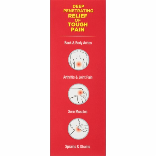 ThermaCare Ultra Pain Relieving Cream Perspective: left