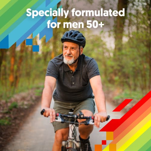 Centrum Silver Minis Men 50+ Multivitamins Perspective: left