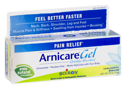 Boiron Arnicare Homeopathic Pain Relief Gel Perspective: left