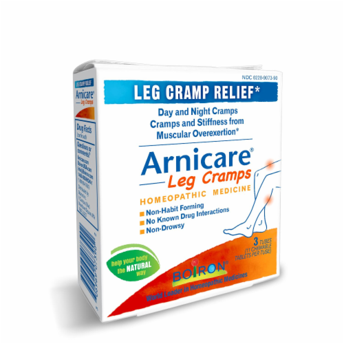 Boiron Arnicare Leg Cramps Homeopathic Tablets Perspective: left