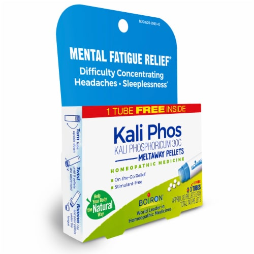 Boiron Kali Phosphoricum 30C Pellets Multi-Pack Perspective: left