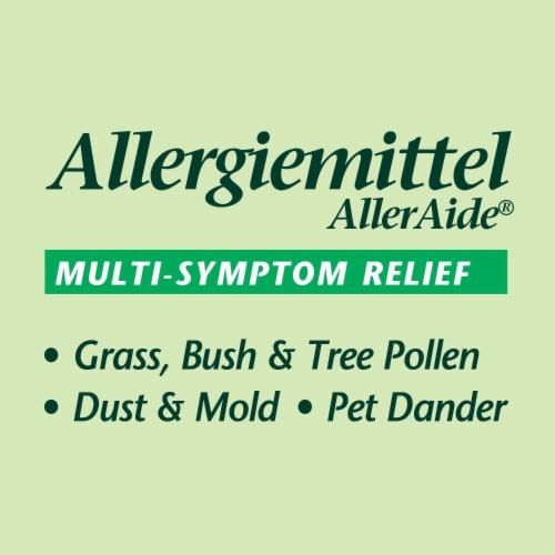 Boericke & Tafel Allergiemittel AllerAide Allergy Relief Tablets Perspective: left