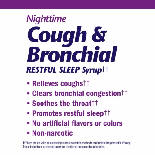 Boericke & Tafel Nighttime Cough Syrup Perspective: left