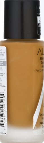 Almay Skin Perfecting Comfort Matte Warm Caramel Foundation Perspective: left