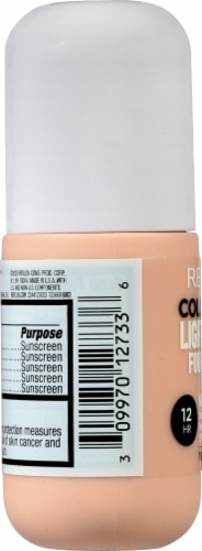 Revlon ColorStay Ivory Light Cover Foundation SPF 35 Perspective: left