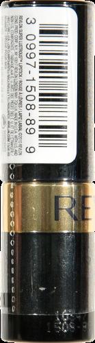 Revlon Super Lustrous Peach Me Pearl Lipstick Perspective: left