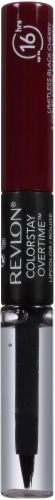 Revlon Colorstay Overtime 500 Limitless Black Cherry Lipcolor Perspective: left