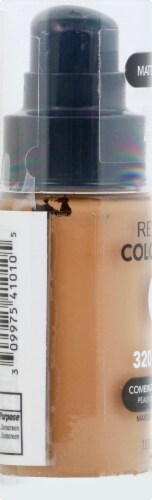 Revlon Colorstay Combination/Oily Skin True Beige Foundation Makeup Perspective: left