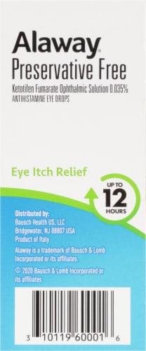 Bausch & Lomb Alaway® Antihistamine Eye Drops Perspective: left