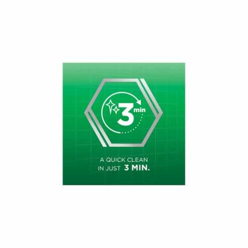 Polident Overnight Whitening Antibacterial Denture Cleanser Tablets Perspective: left