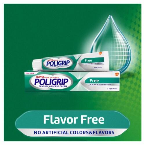 Poligrip Denture Adhesive Cream Perspective: left