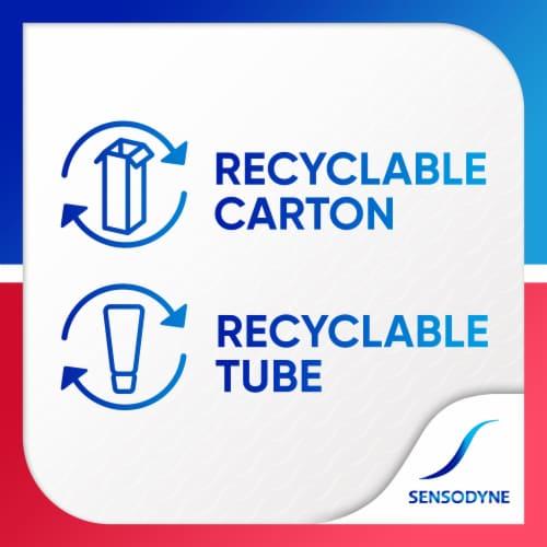 Sensodyne Mint Sensitivity & Gum Toothpaste Perspective: left