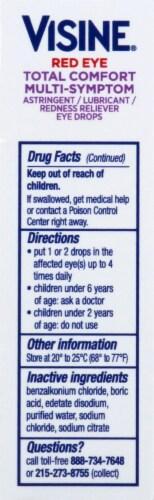 Visine Eye Drops Value Pack Perspective: left