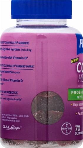 Phillips Colon Health Mixed Berry Probiotic Gummies Perspective: left