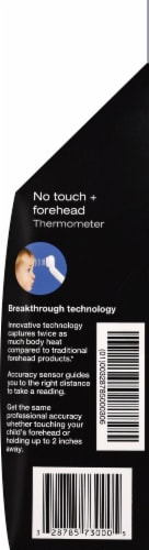 Braun No Touch Forehead Thermometer Perspective: left
