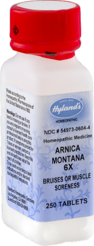 Hyland's Arnica Montana 6x Bruises or Muscle Soreness Perspective: left
