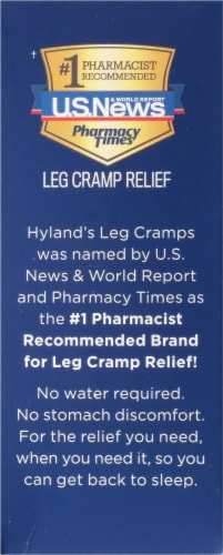 Hyland's Homeopathic Leg Cramps PM Tablets Perspective: left
