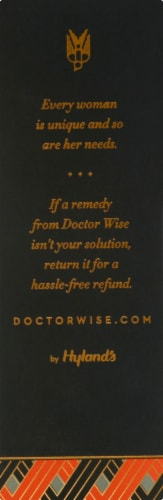 Doctor Wise Homeopathy Menopause + Energy Perspective: left