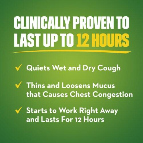 Mucinex® DM Maximum Strength 12-Hour Expectorant and Cough Suppressant Medicine Bi-Layer Tablets Perspective: left