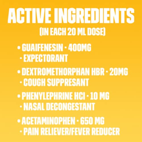 Mucinex Fast-Max Max Strength Day Severe Cold & Night Cold & Flu Liquid Gels Medicine Perspective: left