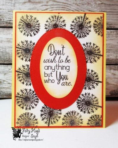 Fairy Hugs Stamps - Dandelion Perspective: left