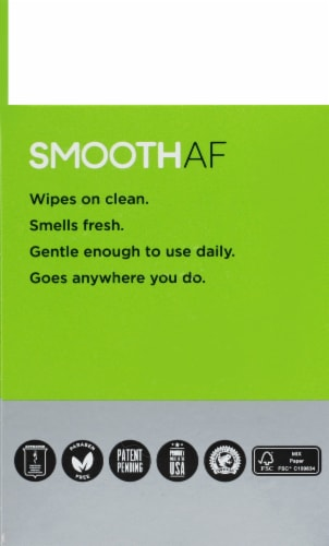 Smooth AF Athlete's Foot Treatment Towels Perspective: left