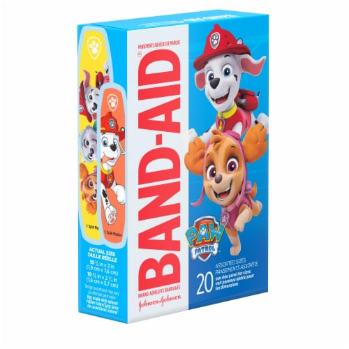 Band-aid Nickelodeon Paw Patrol Assorted Size Bandages Perspective: left