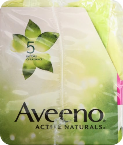 Aveeno Positively Radiant Makeup Removing Wipes - 2 Pack Perspective: left