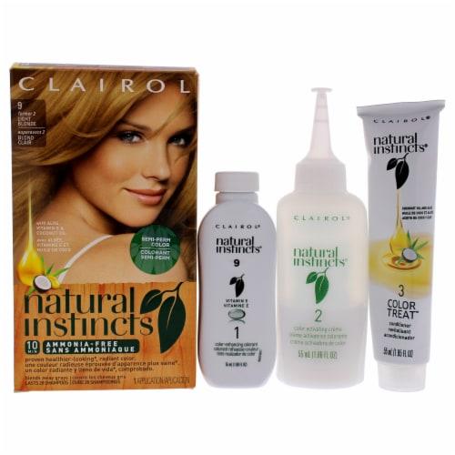 Clairol Natural Instincts 2 Sahara Light Blonde Hair Color Perspective: left