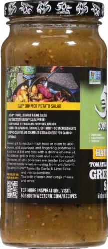 505 Southwestern Medium Tomatillo Garlic & Lime Salsa Perspective: left
