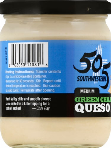 505 Southwestern Blanco Queso Perspective: left