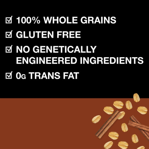 KIND Healthy Grains Cinnamon Oat Clusters with Flax Seed Perspective: left