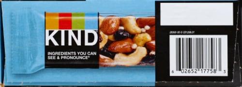 KIND Blueberry Vanilla & Cashew Fruit & Nut Bars Perspective: left