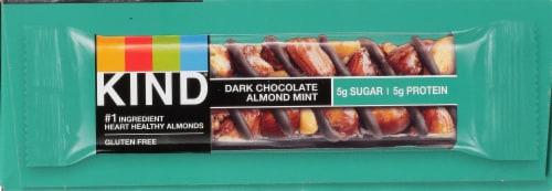 KIND Dark Chocolate Almond Mint Bars Perspective: left